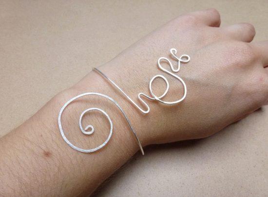 Bracelet pour un mariage fait main par Annamorfoz