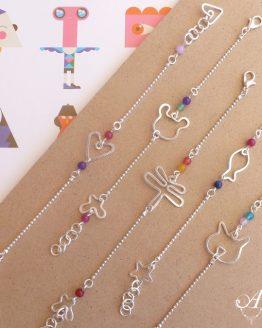 bracelets pour enfants faits main par Annamorfoz