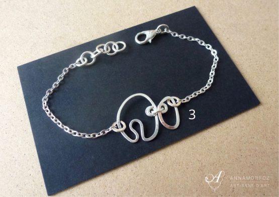 bracelet argenté à moins de 10€