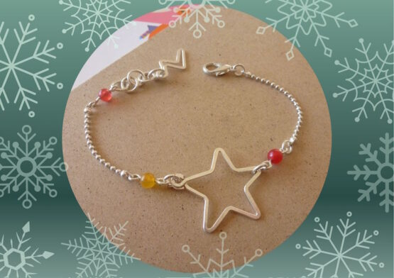 bracelet enfant étoile en soldes