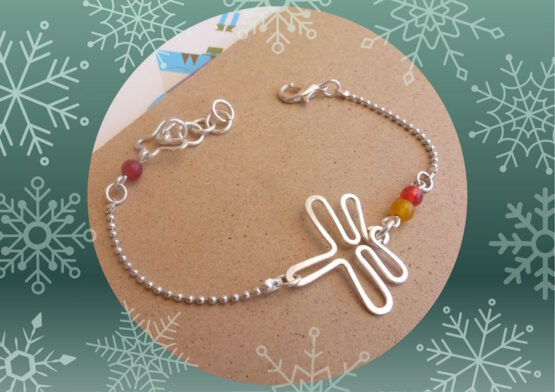 bracelet enfant libellule