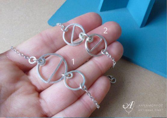 bracelets géométriques fins