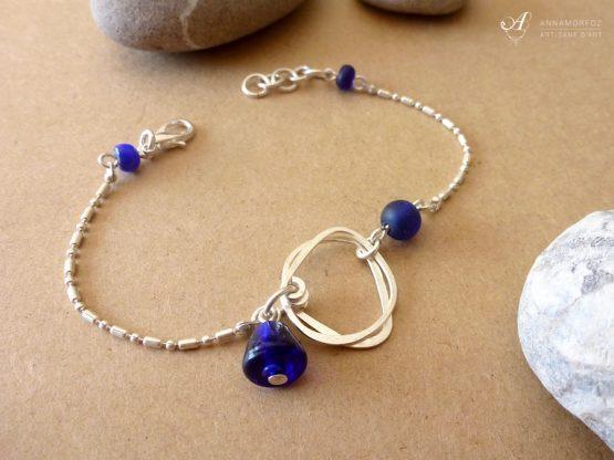 bracelet bleu Annamorfoz