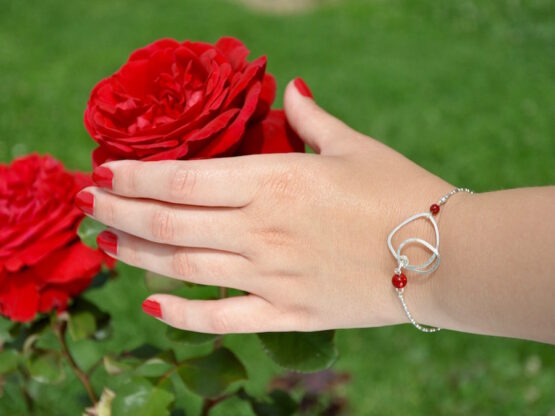 bracelet galets par Annamorfoz