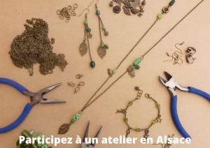Cours de bijoux fantaisie en Alsace